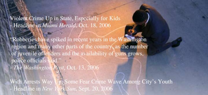 Where are Juvenile Crime TrendsHeaded?