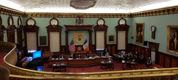 Testimony to New York City Council